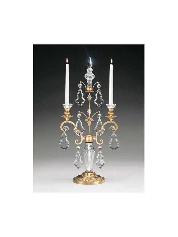 Schonbek 71002 Crystal Two Light Up Lighting Candelabra from the Sale $790.00 ITEM#: 1013520 MODEL# :71002-22 UPC#: 771857052473 :