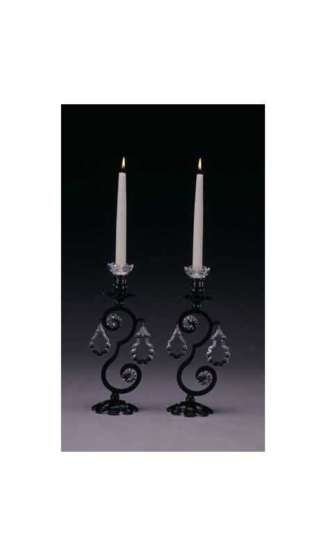 Schonbek 71201/2 Crystal Two Light Up Lighting Candelabra from the