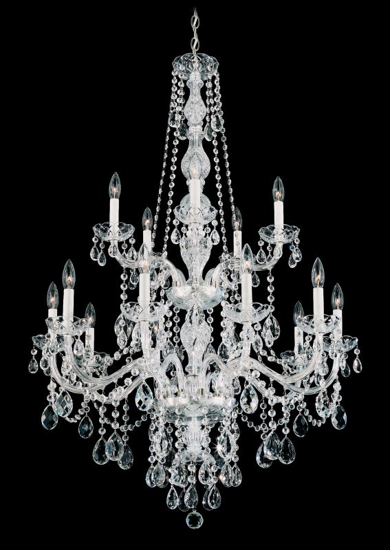 "Schonbek 1308 32"" Wide 15 Light Candle Style Chandelier from the Sale $2430.00 ITEM#: 2799019 MODEL# :1308-40 :"
