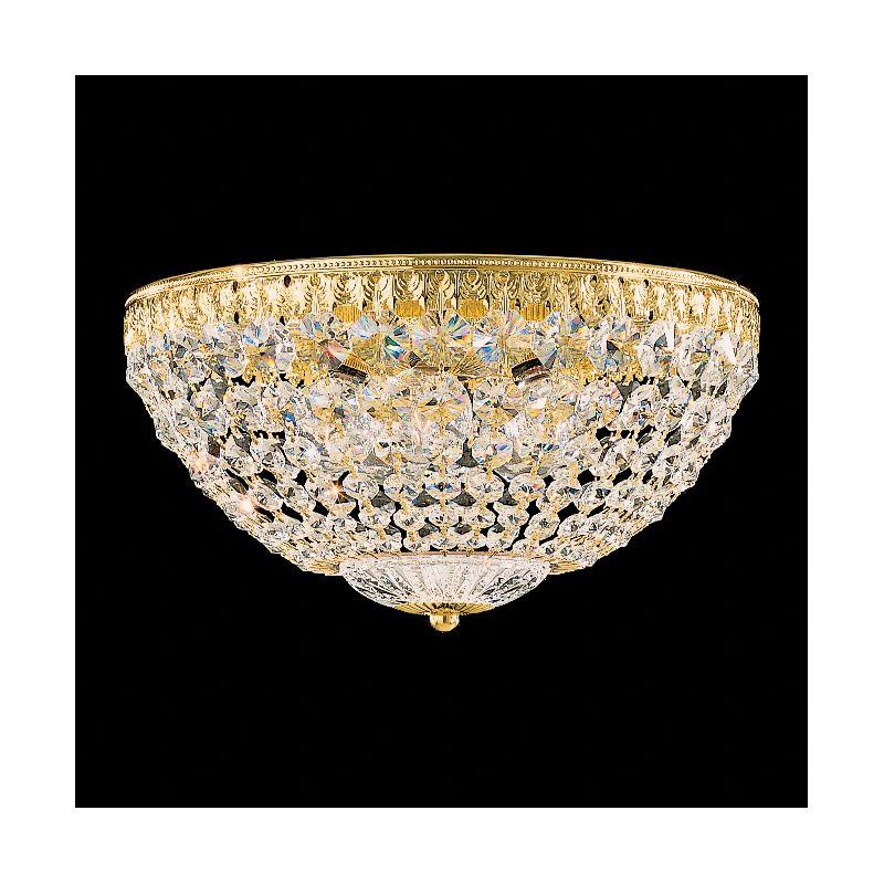 "Schonbek 1562 12"" Wide 5 Light Flush Mount Ceiling Fixture From The Sale $438.00 ITEM#: 2804551 MODEL# :1562-211 :"