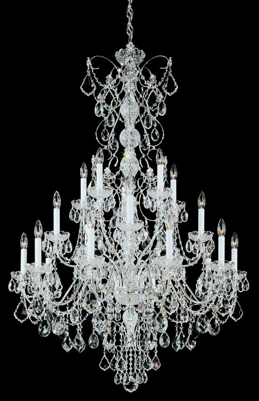 "Schonbek 1716 37"" Wide 20 Light Candle Style Chandelier from the"