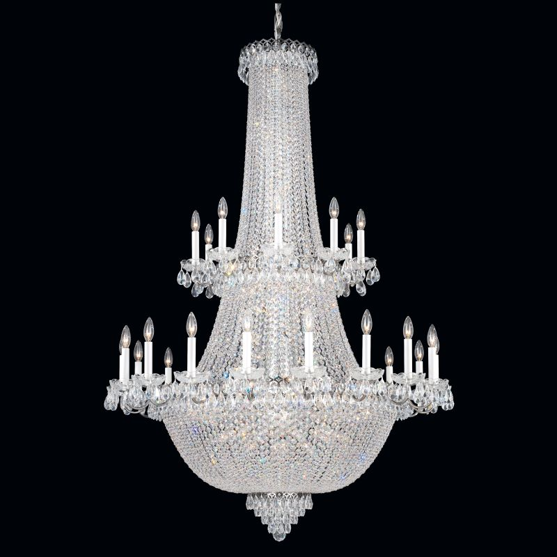 "Schonbek 2643 41 1/2"" Wide 84 Light Chandelier from the Camelot"