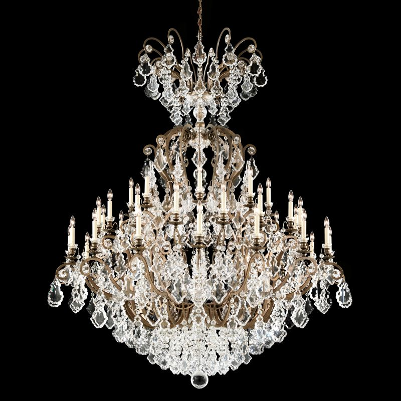 "Schonbek 2775 60"" Wide 41 Light Candle Style Chandelier from the Sale $28050.00 ITEM#: 2799150 MODEL# :2775-23 :"