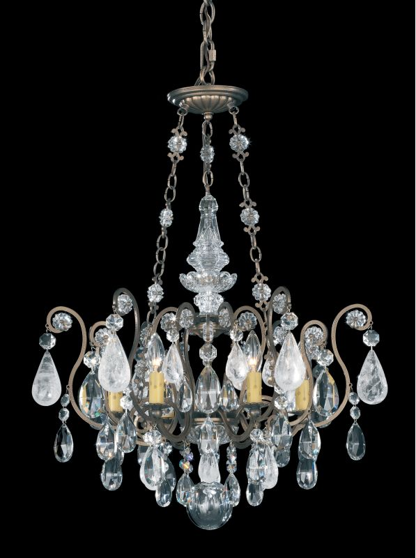 """Schonbek 3586 21 1/2"""" Wide 6 Light Candle Style Chandelier from the Sale $2450.00 ITEM#: 2799209 MODEL# :3586-23 :"""