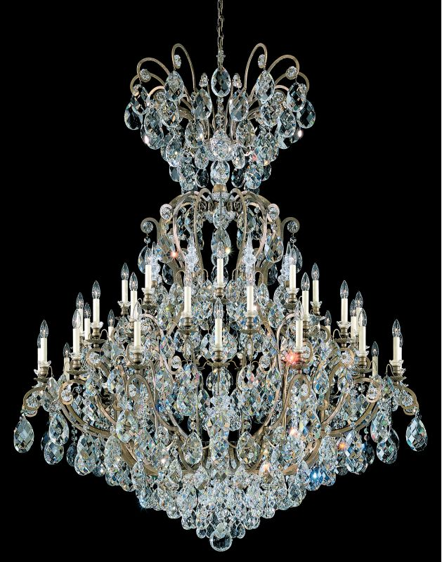 """Schonbek 3775 60"""" Wide 41 Light Candle Style Chandelier from the Sale $24830.00 ITEM#: 2799383 MODEL# :3775-23 :"""