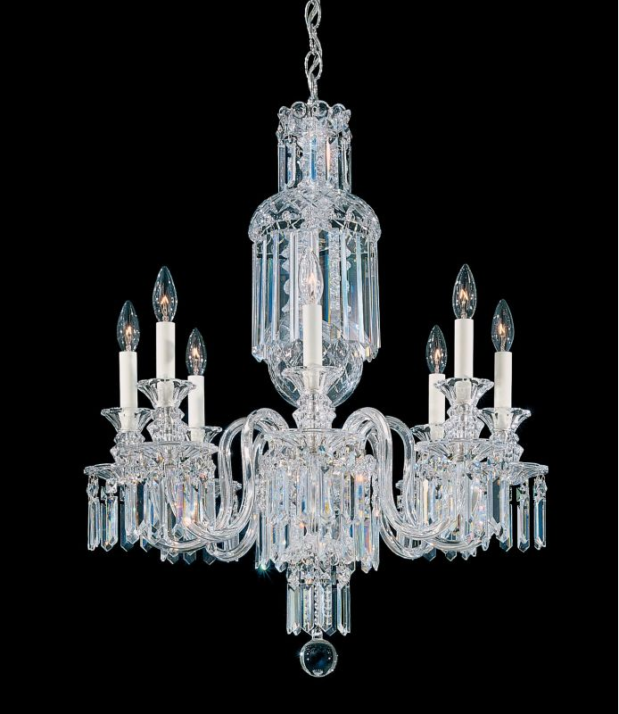 "Schonbek 5032 24"" Wide 8 Light Candle Style Chandelier from the"