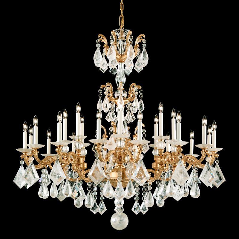"Schonbek 5413 46"" Wide 24 Light Candle Style Chandelier from the La Sale $23390.00 ITEM#: 2799656 MODEL# :5413-26 :"