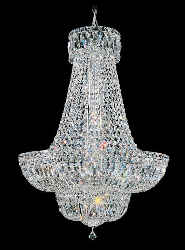 "Schonbek 6618 24"" Wide 23 Light Candle Style Chandelier from the Petit"