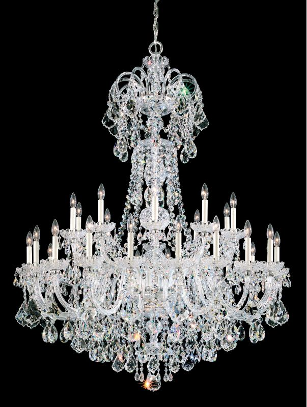 """Schonbek 6816 48"""" Wide 35 Light Candle Style Chandelier from the Olde Sale $24650.00 ITEM#: 2799995 MODEL# :6816-40 :"""