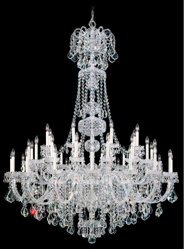 "Schonbek 6861 60"" Wide 45 Light Candle Style Chandelier from the Olde Sale $27370.00 ITEM#: 2800003 MODEL# :6861-40 :"