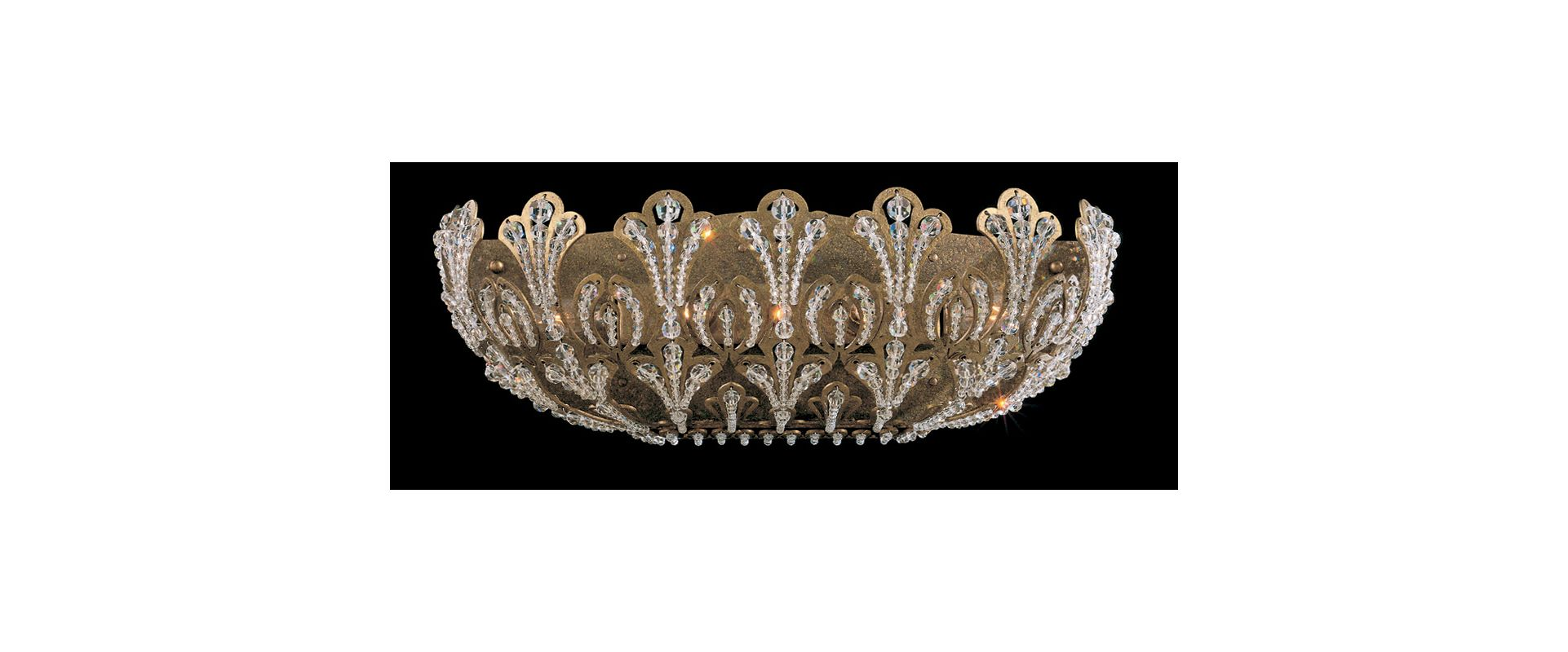 "Schonbek 7846 18"" Wide 4 Light Bathroom Vanity Light With Crystal and"