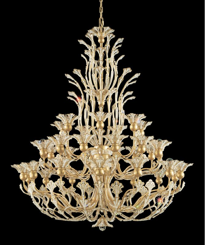 """Schonbek 7868 42"""" Wide 36 Light Candle Style Chandelier from the Sale $27950.00 ITEM#: 2800148 MODEL# :7868-22 :"""