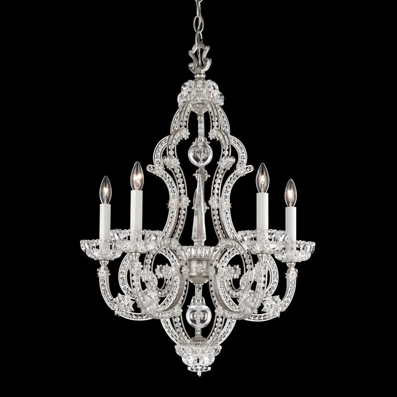 "Schonbek 9621 20"" Wide 5 Light Chandelier from the Scheherazade Sale $5670.00 ITEM#: 2800166 MODEL# :9621-48 :"