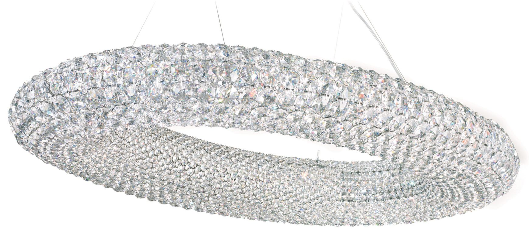 "Schonbek CA3724 37"" Wide 20 Light Chandelier from the Cassini"