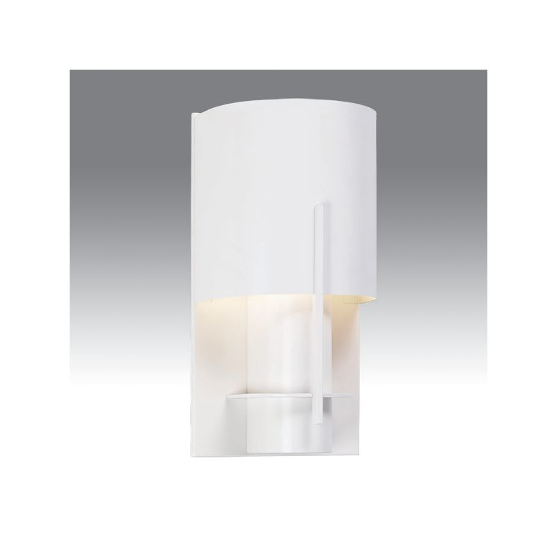 Sonneman 1710 Oberon 1 Light Modern CFL Wall Sconce with Half-Cylinder Sale $82.00 ITEM#: 1721224 MODEL# :1710.03LF UPC#: 872681025203 :