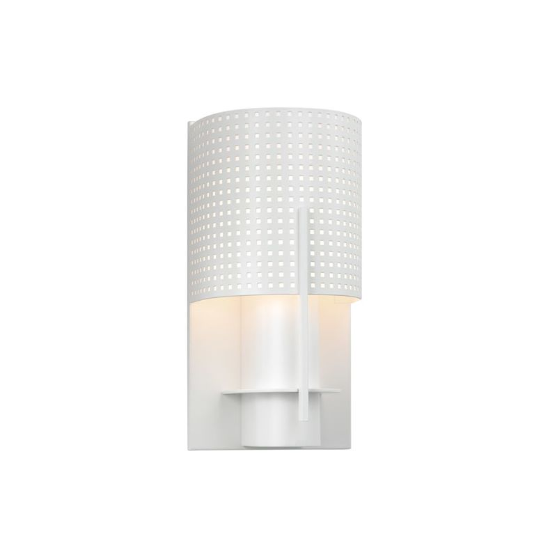 Sonneman 1710 Oberon 1 Light Modern CFL Wall Sconce with Half-Cylinder Sale $82.00 ITEM#: 1721225 MODEL# :1710.03MF UPC#: 872681025210 :