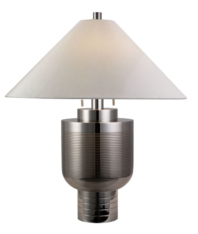"Sonneman 6108 Two Light 30.5"" Down Lighting Urn Table Lamp with Silk"