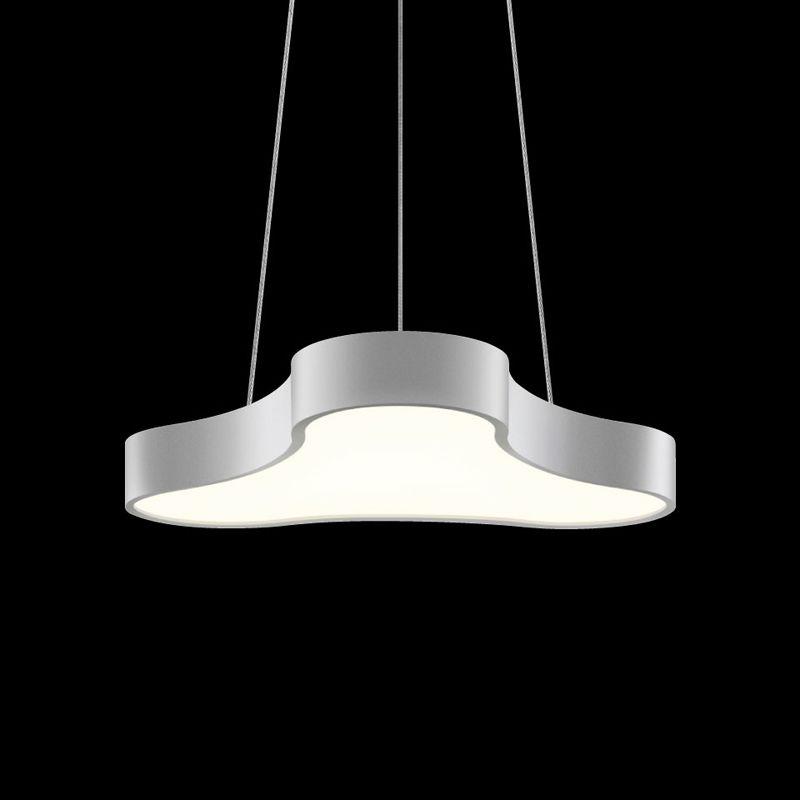 Sonneman 1730 Corso Rhythm 1 Light LED Pendant Bright Satin Aluminum Sale $1050.00 ITEM#: 2655360 MODEL# :1730.16 UPC#: 872681061478 :