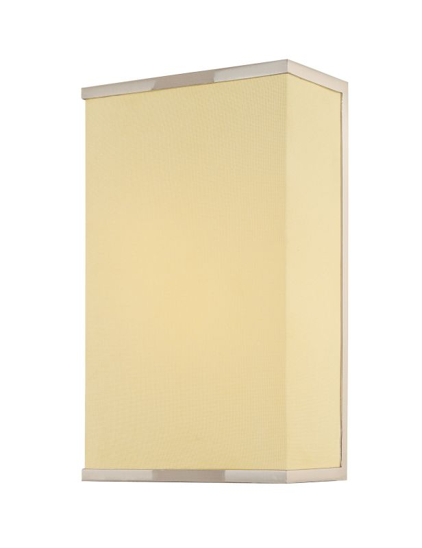 Sonneman 1831 Rettangolo 1 Light CFL Wall Sconce with Rectangle Linen