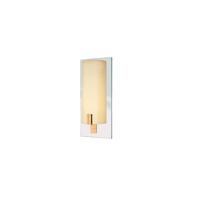 Sonneman 1931.13 Cylindre 1 Light Wall Sconce Satin Nickel Indoor
