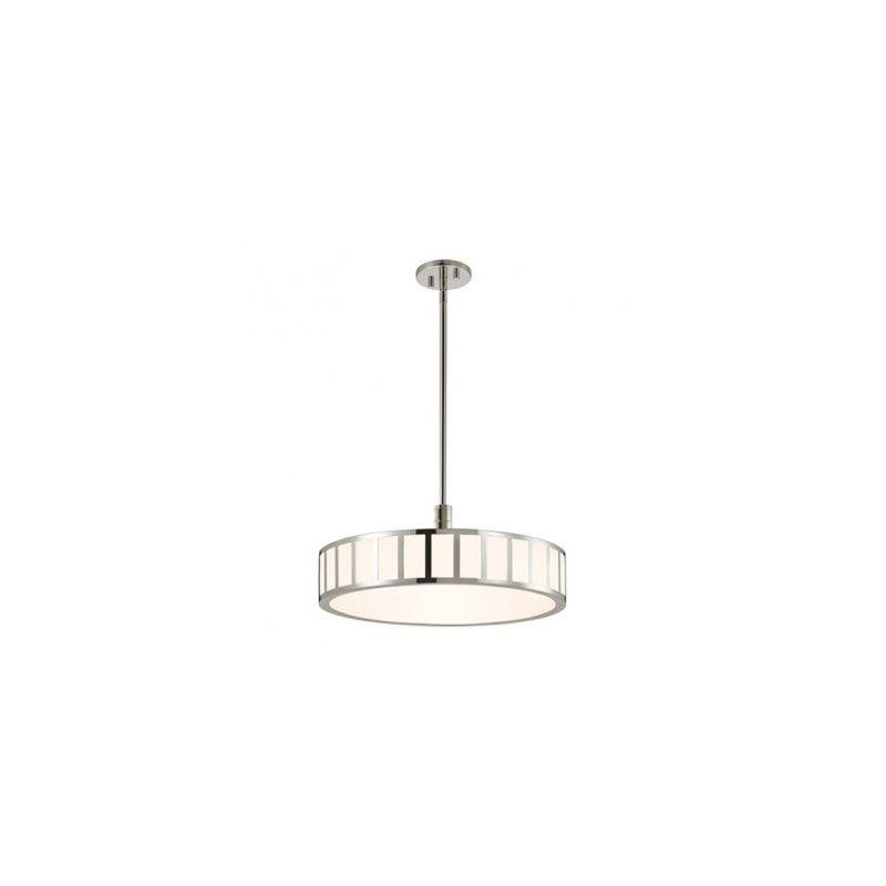 Sonneman 2520 Capital 1 Light LED Pendant Polished Nickel Indoor