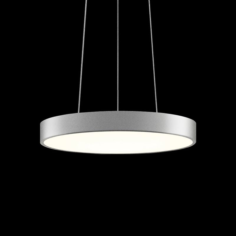 Sonneman 2740 Pi 1 Light LED Pendant Bright Satin Aluminum Indoor Sale $730.00 ITEM#: 2655472 MODEL# :2740.16 UPC#: 872681062161 :