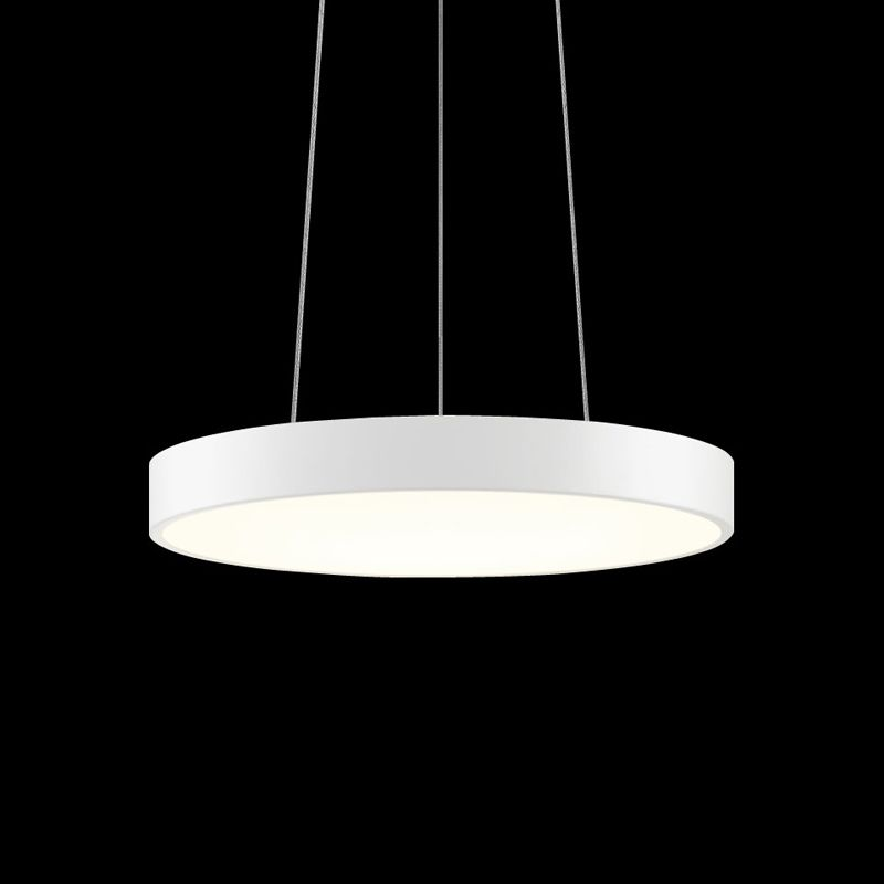 Sonneman 2740 Pi 1 Light LED Pendant Textured White Indoor Lighting Sale $730.00 ITEM#: 2655474 MODEL# :2740.98 UPC#: 872681062185 :