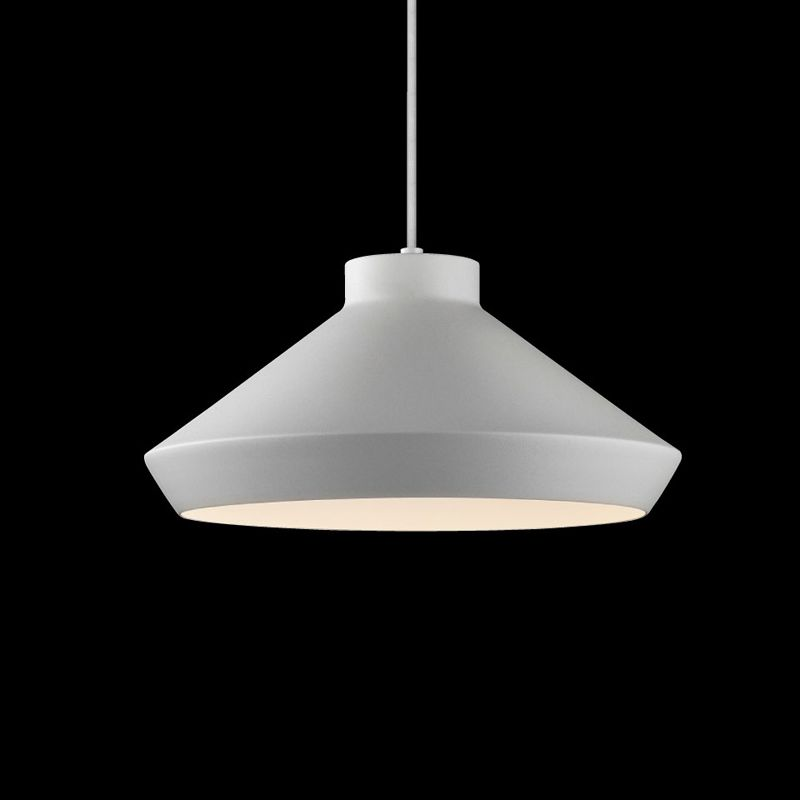 Sonneman 2752 Meiji 1 Light LED Pendant Bright Satin Aluminum Indoor Sale $390.00 ITEM#: 2655457 MODEL# :2752.16-G UPC#: 872681062352 :