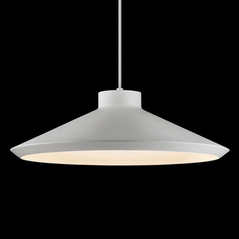 Sonneman 2754 Edo 1 Light LED Pendant Bright Satin Aluminum Indoor Sale $500.00 ITEM#: 2655460 MODEL# :2754.16-G UPC#: 872681062383 :