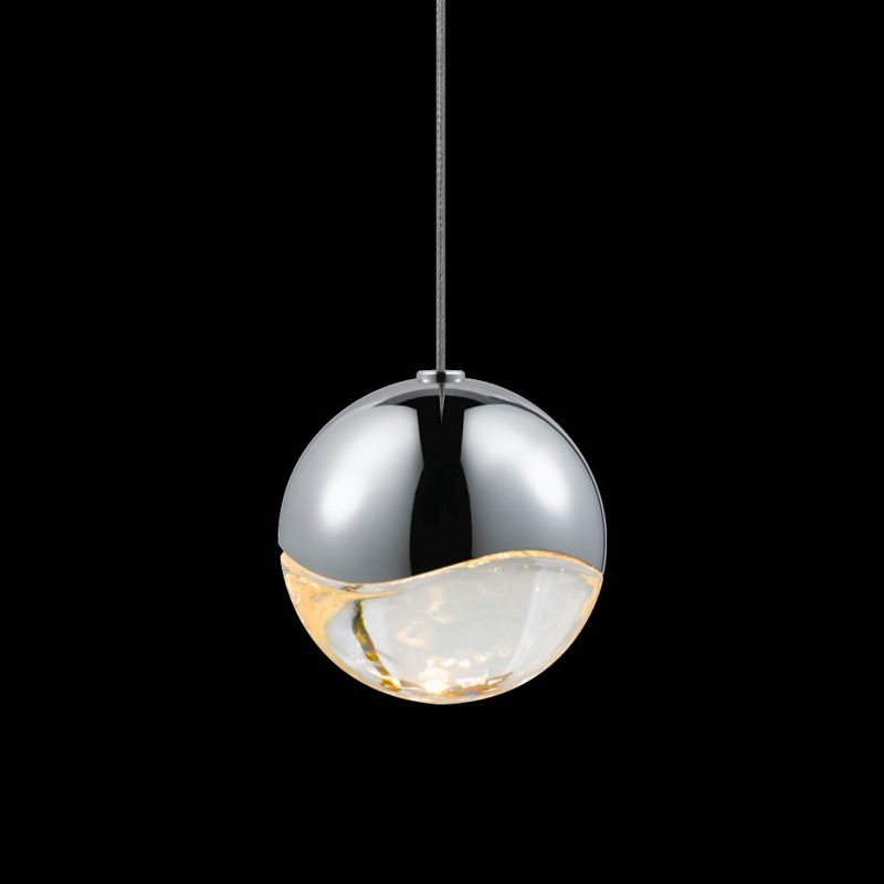 Sonneman 2911-MED Grapes 1 Light LED Pendant Polished Chrome Indoor Sale $320.00 ITEM#: 2655370 MODEL# :2911.01-MED UPC#: 872681062680 :
