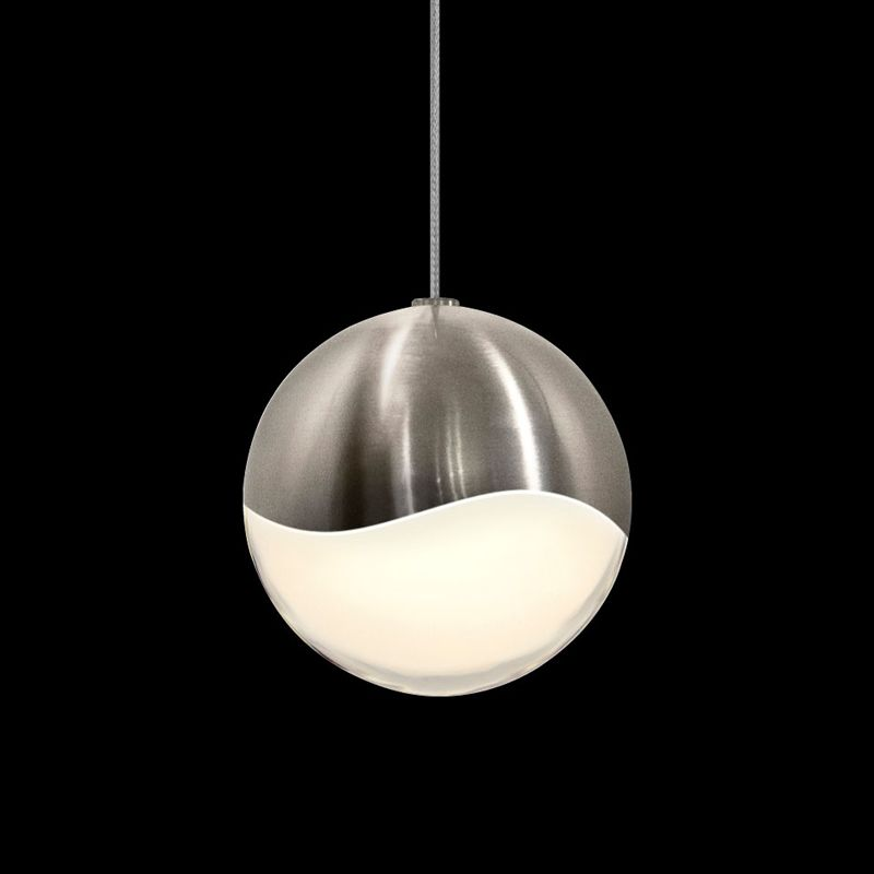 Sonneman 2911-LRG Grapes 1 Light LED Pendant Satin Nickel Indoor Sale $340.00 ITEM#: 2655372 MODEL# :2911.13-LRG UPC#: 872681062703 :