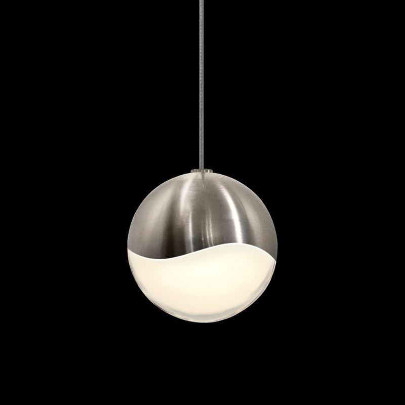 Sonneman 2911-MED Grapes 1 Light LED Pendant Satin Nickel Indoor Sale $320.00 ITEM#: 2655373 MODEL# :2911.13-MED UPC#: 872681062710 :