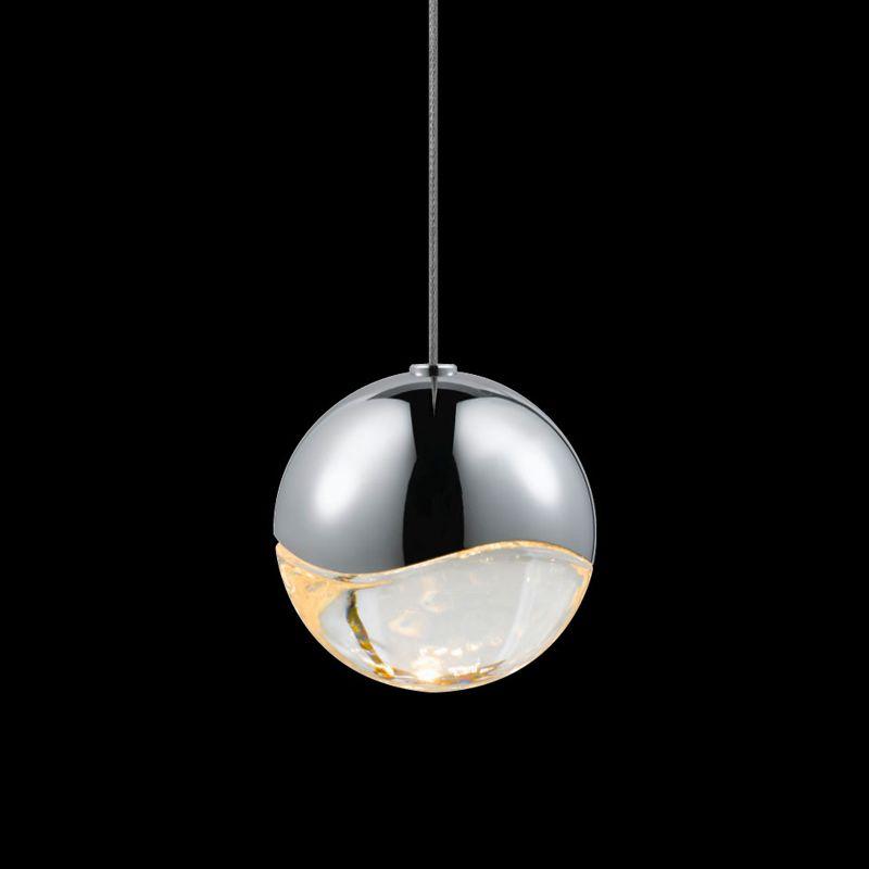 Sonneman 2912-MED Grapes 1 Light LED Pendant Polished Chrome Indoor Sale $310.00 ITEM#: 2655376 MODEL# :2912.01-MED UPC#: 872681062741 :