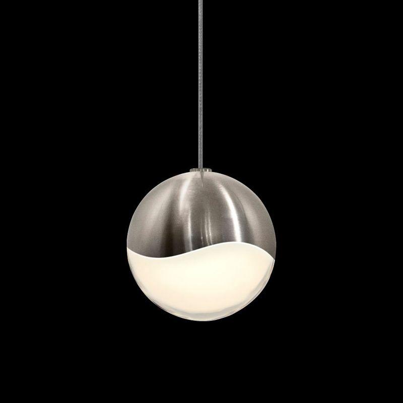 Sonneman 2912-MED Grapes 1 Light LED Pendant Satin Nickel Indoor Sale $310.00 ITEM#: 2655379 MODEL# :2912.13-MED UPC#: 872681062772 :