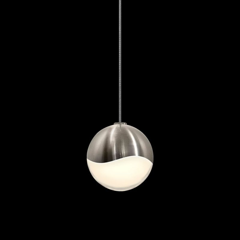 Sonneman 2912-SML Grapes 1 Light LED Pendant Satin Nickel Indoor Sale $280.00 ITEM#: 2655380 MODEL# :2912.13-SML UPC#: 872681062789 :
