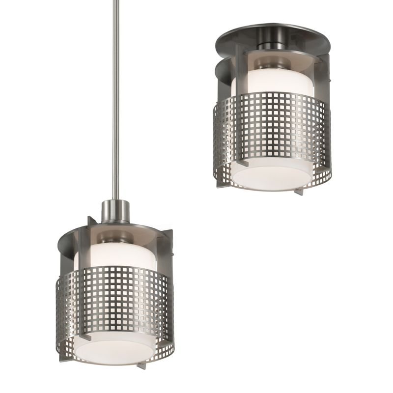 Sonneman 3432.13 Pool 1 Light Pendant Metal Grid Shade Indoor Lighting Sale $420.00 ITEM#: 2068266 MODEL# :3432.13M UPC#: 872681005953 :