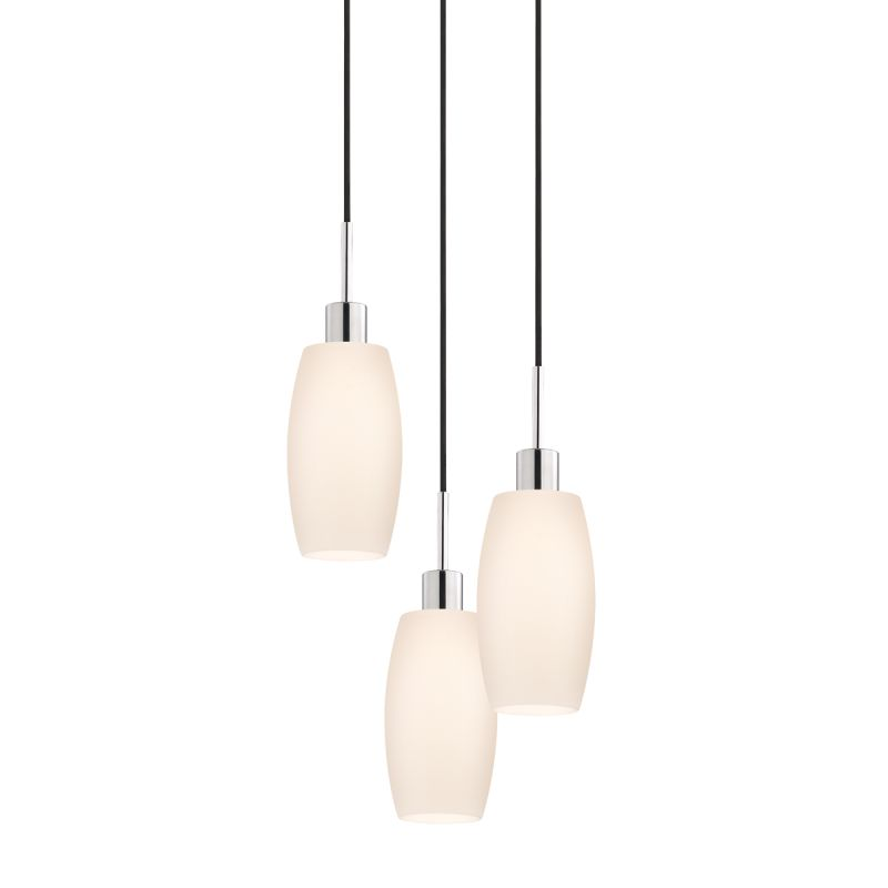 Sonneman 3561-3 Glass Pendants 3 Light Pendant with White Shade Sale $770.00 ITEM#: 2276652 MODEL# :3561.01K-3 UPC#: 872681049964 :