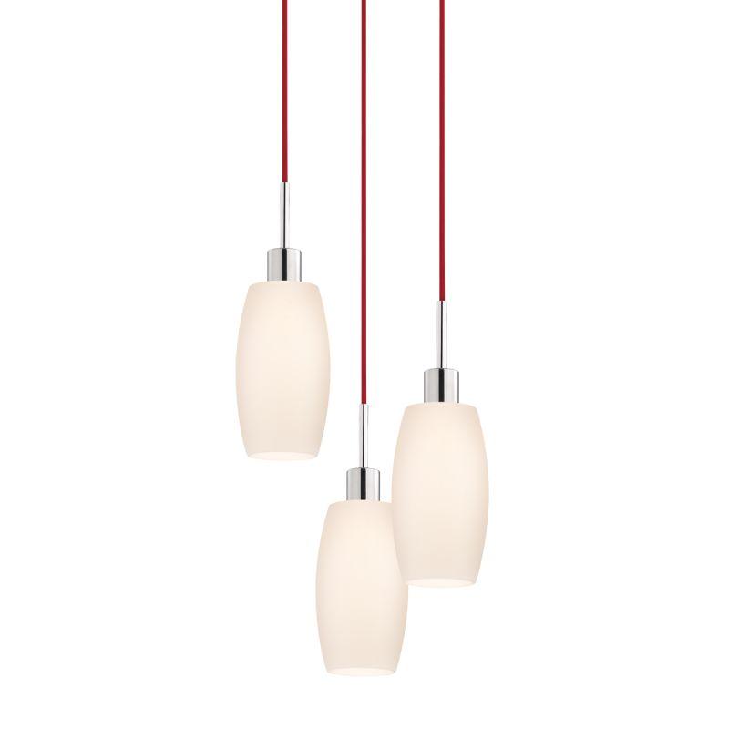 Sonneman 3561-3 Glass Pendants 3 Light Pendant with White Shade Sale $770.00 ITEM#: 2276653 MODEL# :3561.01R-3 UPC#: 872681049971 :
