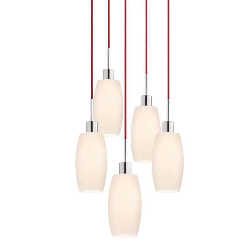 Sonneman 3561-5 Glass Pendants 5 Light Pendant with White Shade Sale $1310.00 ITEM#: 2276655 MODEL# :3561.01R-5 UPC#: 872681049995 :