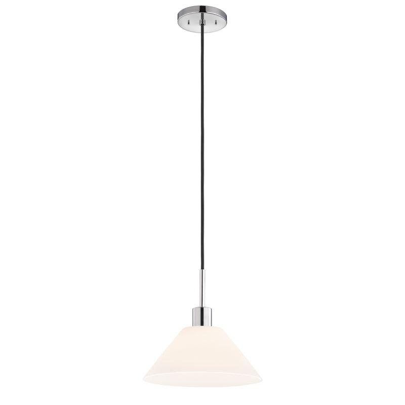 Sonneman 3563 Glass Pendants 1 Light Pendant with White Shade Polished Sale $250.00 ITEM#: 2276662 MODEL# :3563.01K UPC#: 872681049827 :