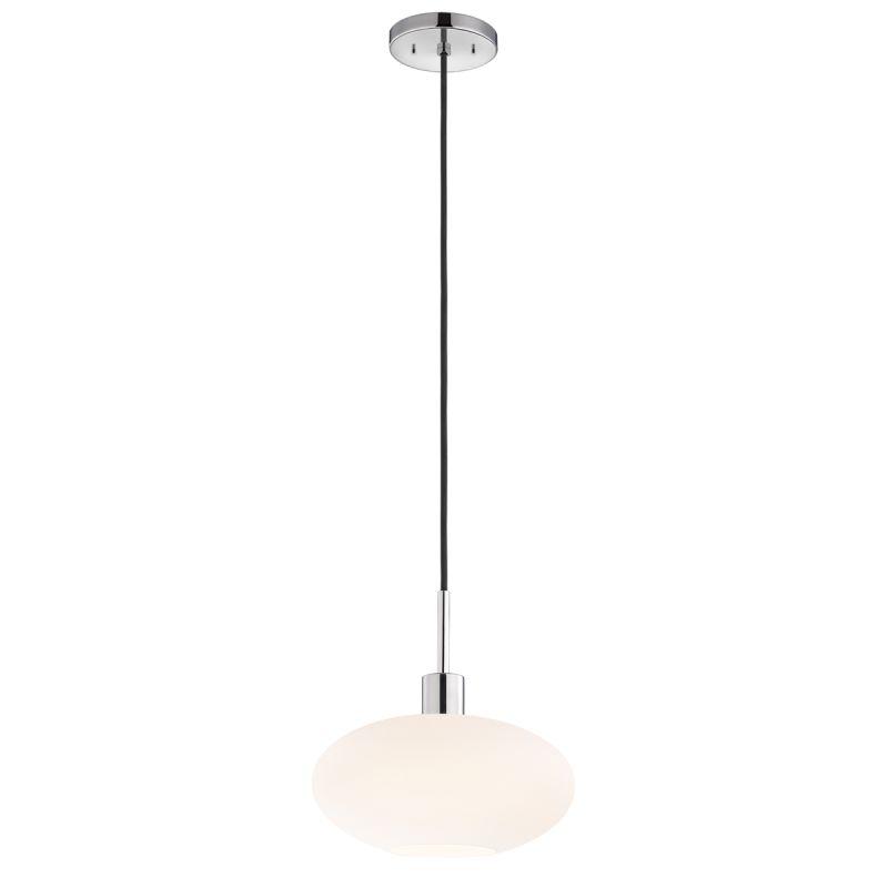 Sonneman 3566 Glass Pendants 1 Light Pendant with White Shade Polished Sale $260.00 ITEM#: 2276674 MODEL# :3566.01K UPC#: 872681049889 :