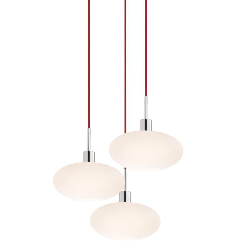 Sonneman 3566-3 Glass Pendants 3 Light Pendant with White Shade Sale $920.00 ITEM#: 2276677 MODEL# :3566.01R-3 UPC#: 872681050175 :