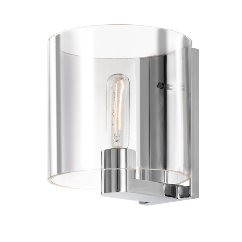 Sonneman 3690C Delano 1 Light Wall Sconce with Glass Shade Polished Sale $250.00 ITEM#: 2546518 MODEL# :3690.01C UPC#: 872681041340 :