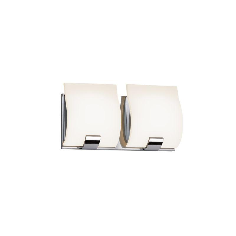 Sonneman 3882LED Aquo 2 Light ADA Compliant LED Bathroom Vanity Strip Sale $390.00 ITEM#: 2406282 MODEL# :3882.01LED UPC#: 872681055644 :