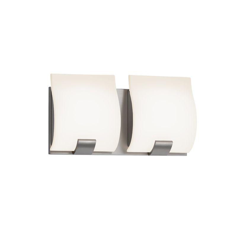 Sonneman 3882LED Aquo 2 Light ADA Compliant LED Bathroom Vanity Strip Sale $390.00 ITEM#: 2406283 MODEL# :3882.13LED UPC#: 872681055651 :