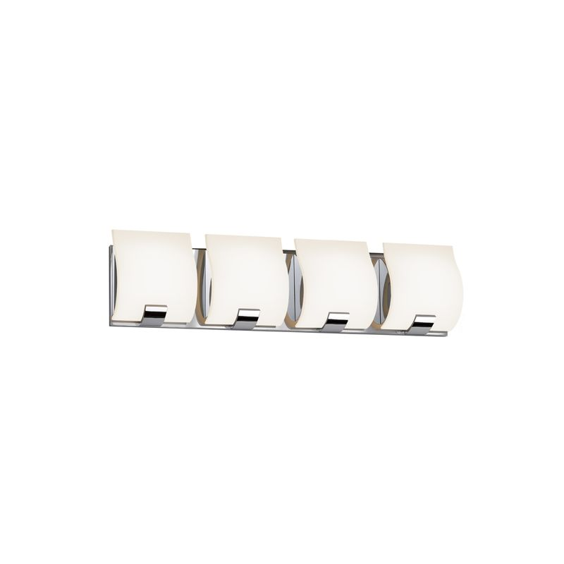 Sonneman 3884LED Aquo 4 Light ADA Compliant LED Bathroom Vanity Strip Sale $790.00 ITEM#: 2406286 MODEL# :3884.01LED UPC#: 872681055682 :