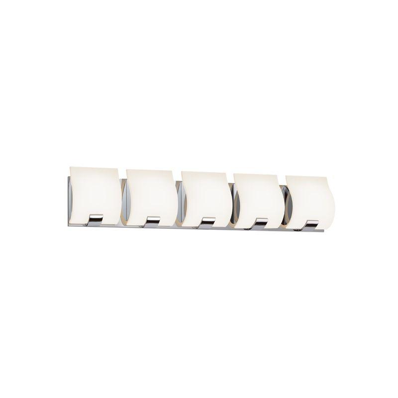 Sonneman 3885LED Aquo 5 Light ADA Compliant LED Bathroom Vanity Strip Sale $900.00 ITEM#: 2406288 MODEL# :3885.01LED UPC#: 872681055705 :