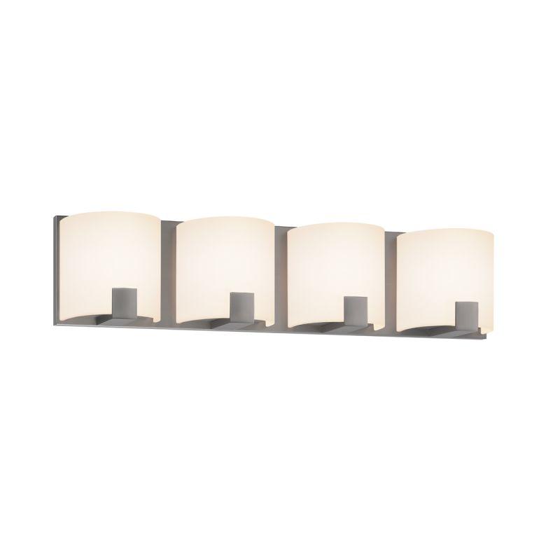 Sonneman 3894 C-Shell 4 Light ADA Compliant Bathroom Bath Bar Satin Sale $160.00 ITEM#: 2276729 MODEL# :3894.13 UPC#: 872681050649 :