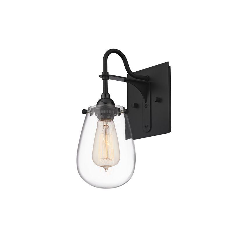 Sonneman 4286 Chelsea 1 Light Bathroom Vanity Light Satin Black Indoor Sale $180.00 ITEM#: 2406201 MODEL# :4286.25 UPC#: 872681057006 :