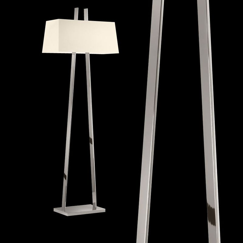 Sonneman 4682 A-Lamp 2 Light Floor Lamp with Linen Shade Polished Sale $970.00 ITEM#: 2655514 MODEL# :4682.35 UPC#: 872681062567 :